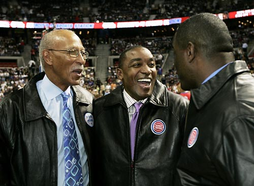 Three Piston guards made the NBA Top 50 Players of All Time: Dave Bing, Isiah Thomas and Joe Dumars