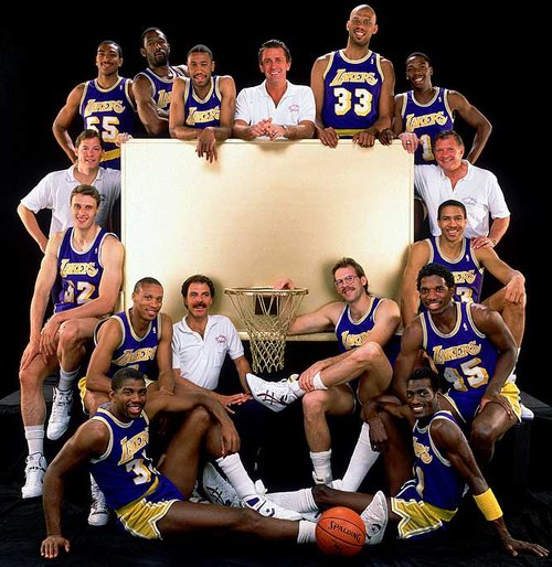 Kurt Rambis Showtime Lakers