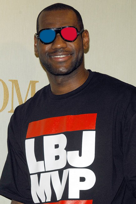 lebron MVP 3D glasses