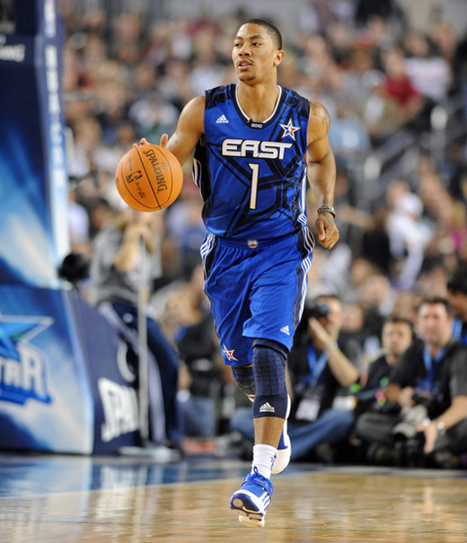 derrick rose all star bulls