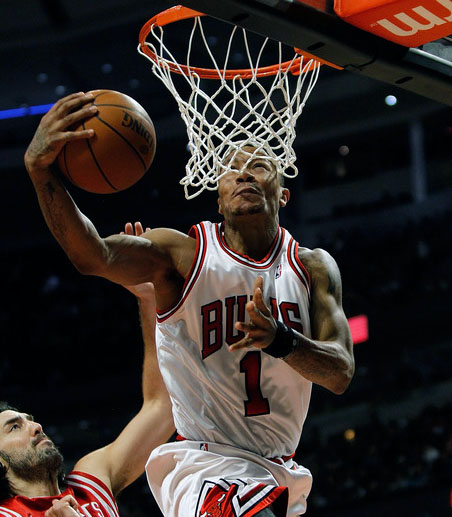 Derrick Rose Bulls point guard
