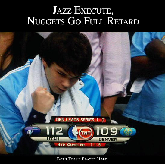 Jazz Beat Nuggets Game 2
