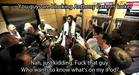 lebron locker room media