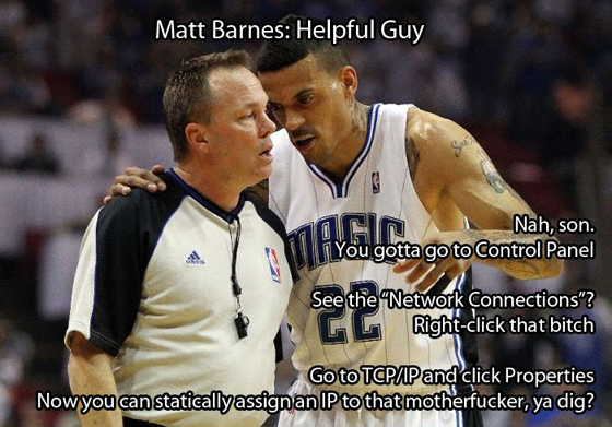 matt barnes block bobcats orlando magic