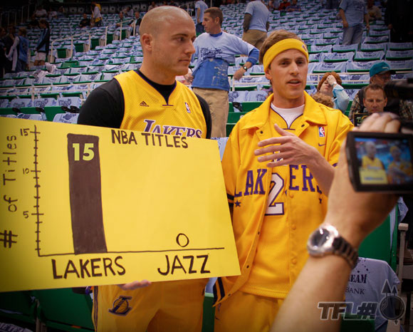 Lakers Jazz 2010 Playoffs