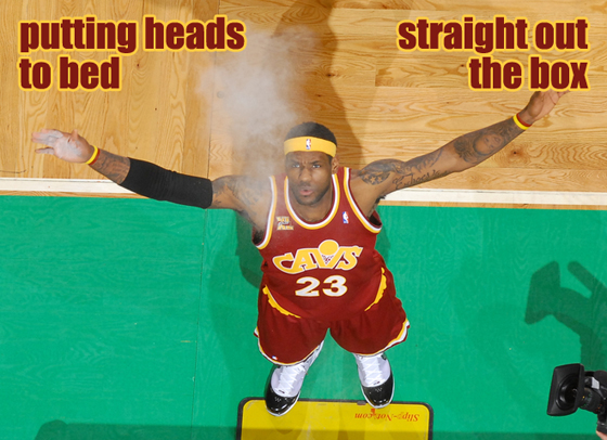 LeBron James Chalk
