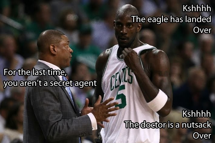 Kevin Garnett Doc Rivers